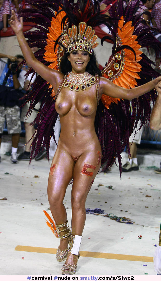 Nude Brazilian Dancer Hot Brazil Carnival  Smuttycom-3493