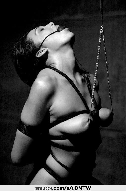 Photo Of Nude Woman Body Tied With Shibari Rope Bondage