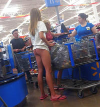 Naked women of walmart, almost to young girl porn