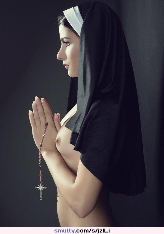 Saintlike Seductress Sexy Nun Costume