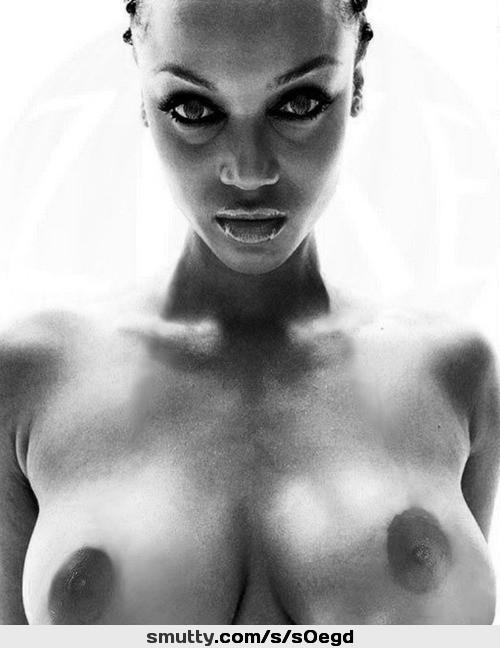 Tyra banks naked breast photo