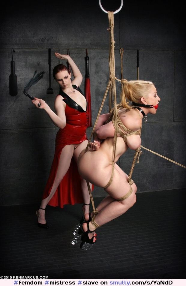Bondage mistress rope