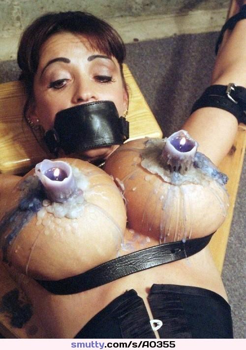 Hot Bdsm Sexy Bondage Humiliation Bigtits Hotwax  -8255