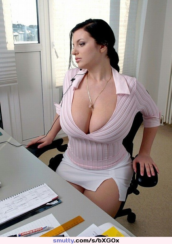 Wonderful Boob office sex