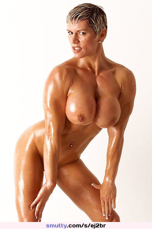 from Braylen sexy muscle girl with blonde hair