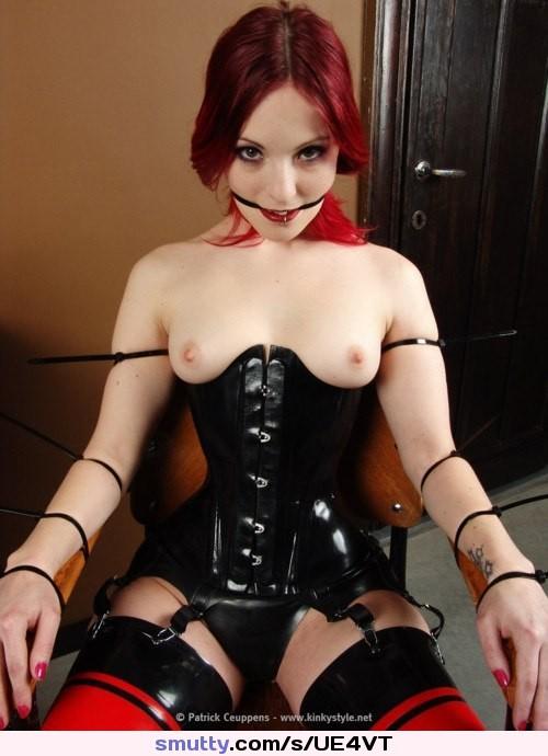 That interrupt redhead bondage fuck not