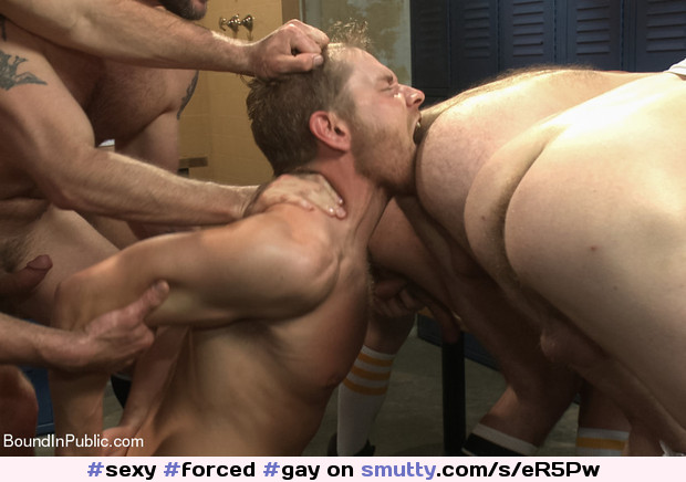 Forced rimjob blog gay