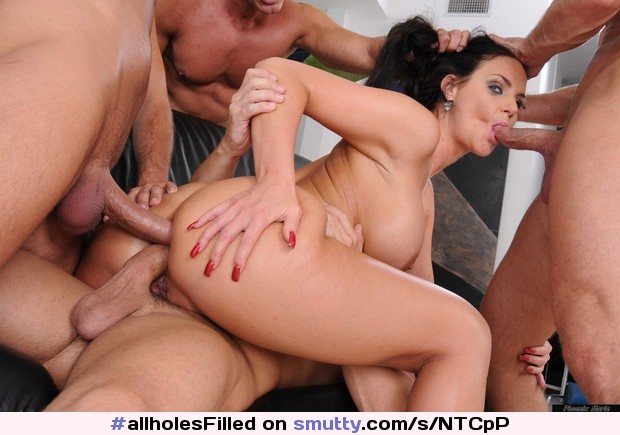 Audrey hollander a baseball bat and a cock at once in ass