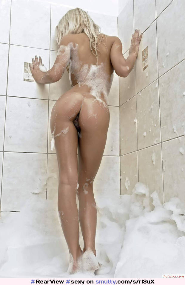 Sexy Soapy Blonde Shower Hot Ass Psfb Pussy