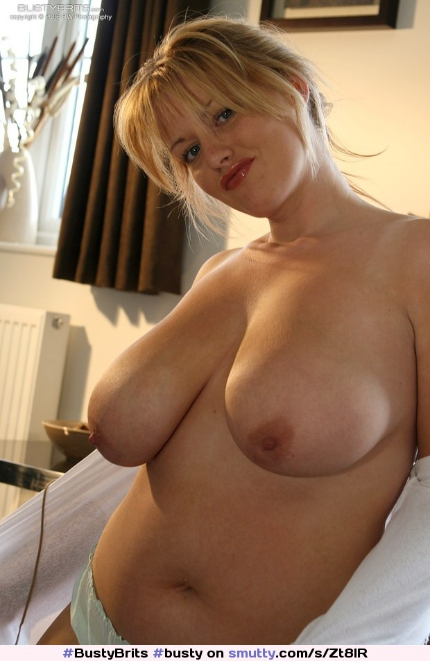 Busty bbw topless