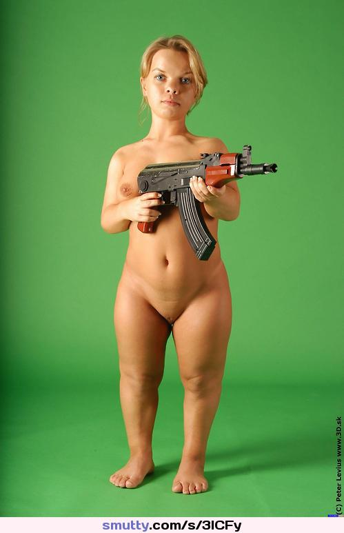 Blonde midget naked