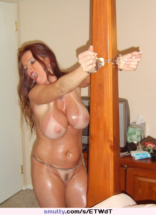 Cuffed Handcuffs Chain Naked Nude Milf Tanlines Tv -6508