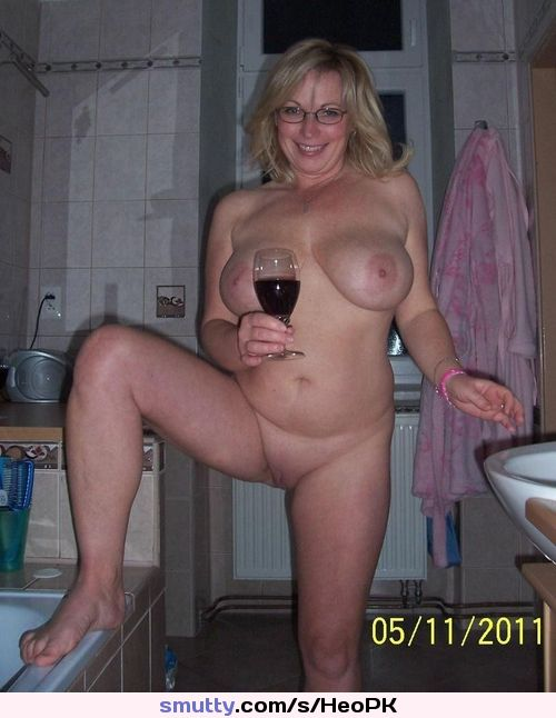glass of wine nude moms
