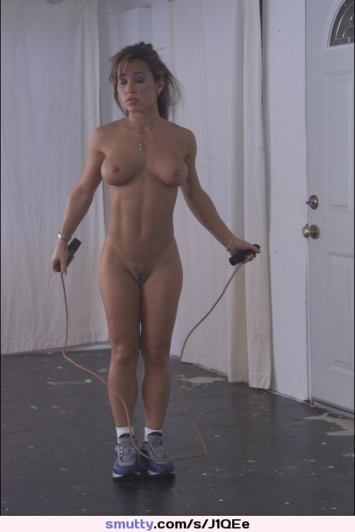 Sexy rope workout
