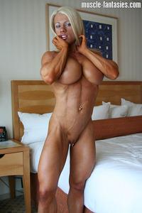 muscle nude Dettwiller melissa