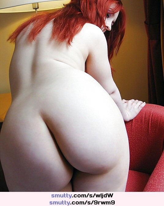 Bright red hair naked big ass #3