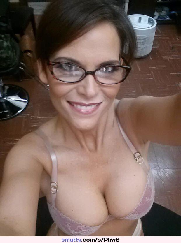 Big tits milfs glasses