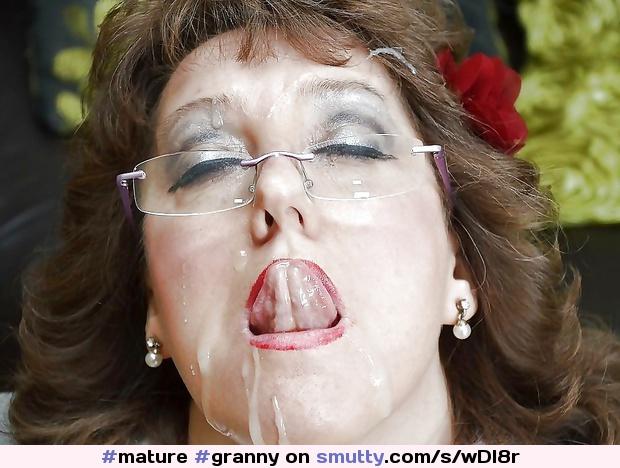 Mature Facial Granny Facial Mature Facial  Smuttycom-5358