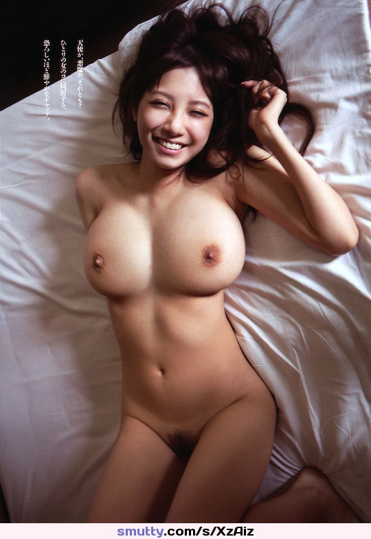 #ShionUtsunomiya #inbed #smiling #bigtits #hairypussy #smileonherface #bignaturals #asian #Japanese #beautifulgirl #HappyGirl