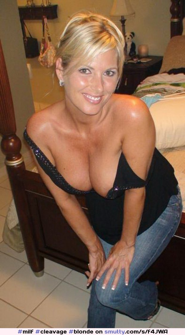 Join. And hot milf shirt cleavage
