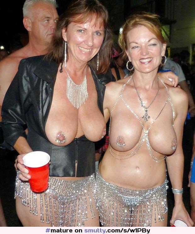 Hot bikin mom nude at party wives