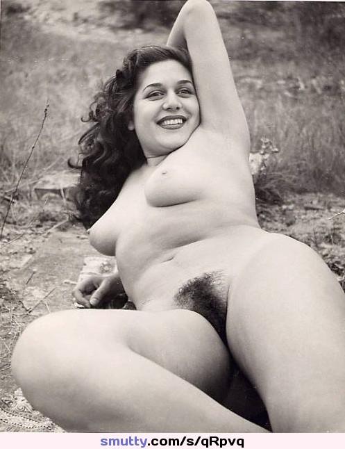 Vintage amateur hairy women
