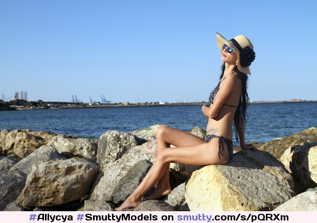 #Allycya #SmuttyModels #beach #lovelyday #sunny #hot