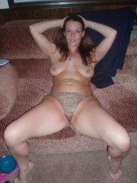 wife in satin panties amateur