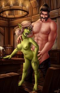 Секс хентвай с гоблином фото 763-367