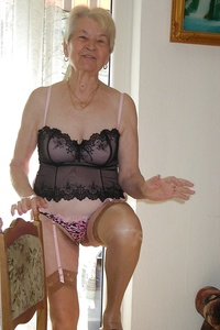 Old grannies in stockings