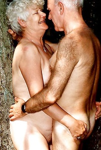 Naked granny couples mature
