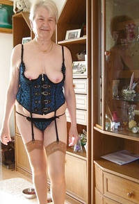 Opinion you Mature granny stockings how