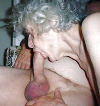 Old granny bj