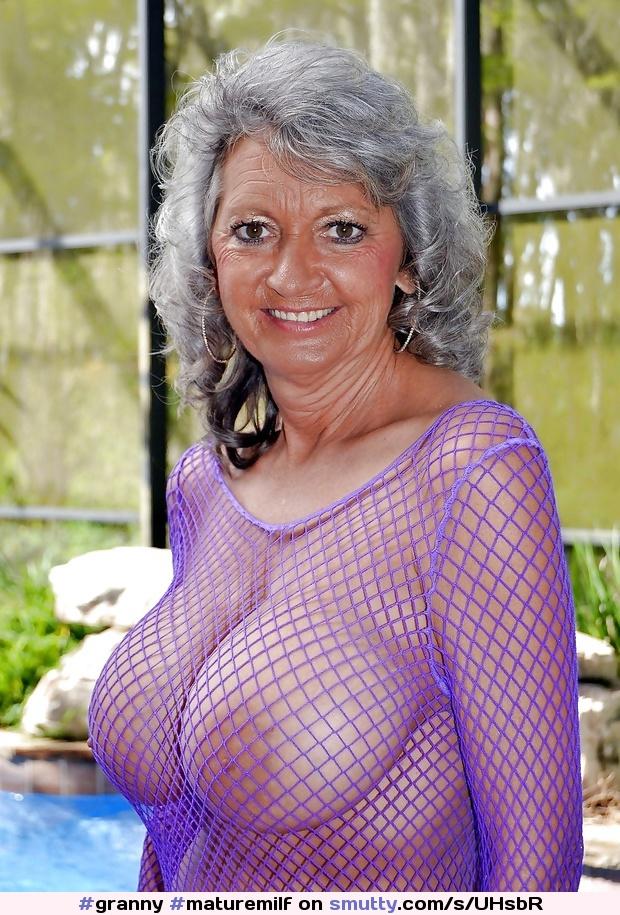 Gray Hair Big Tits 90