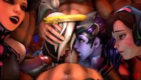 #hentai #overwatch #Mercy #Widowmaker
