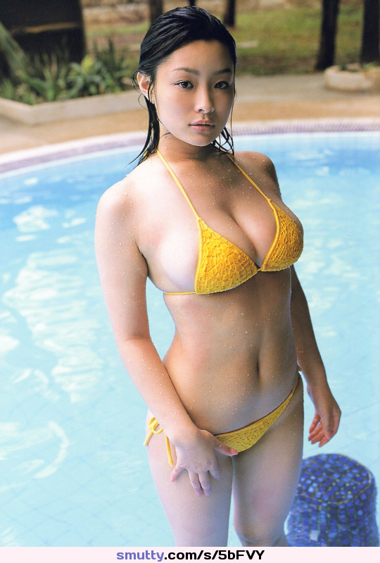 Sexy asian in bikini 