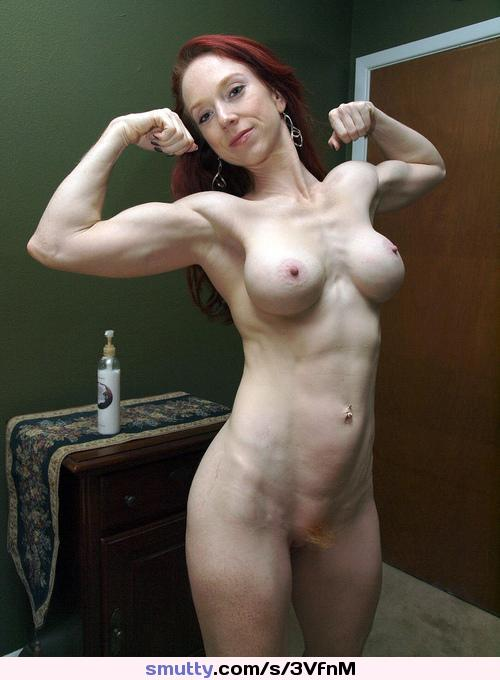 Redhead Ginger Mature Hardbody Fit Fitness Milf Abs Sixpack  -4649