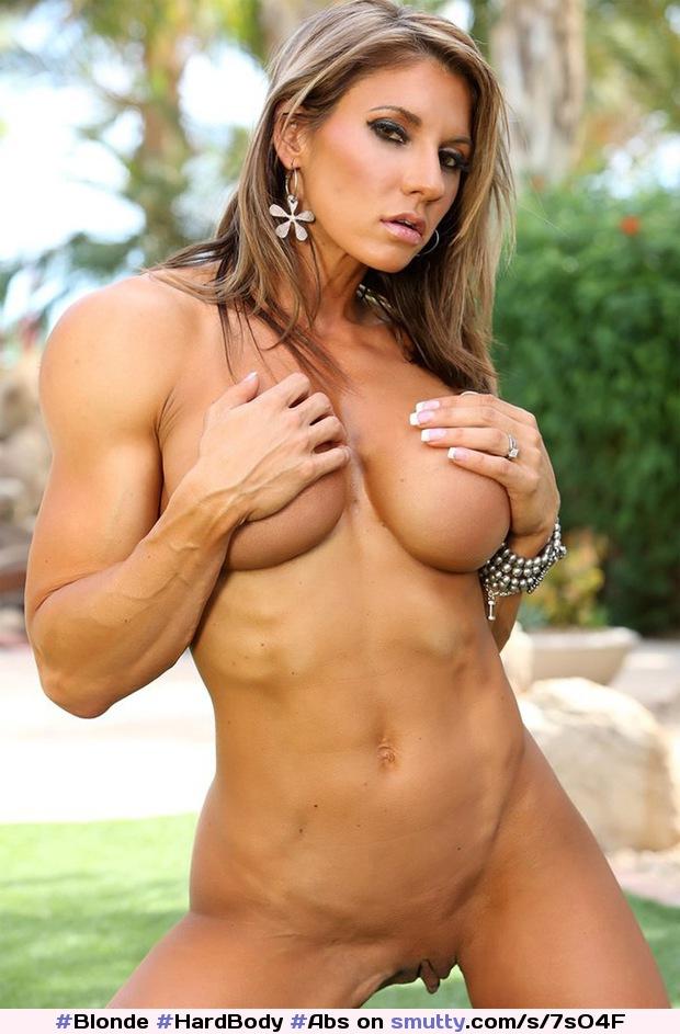 Mom shows off hard body