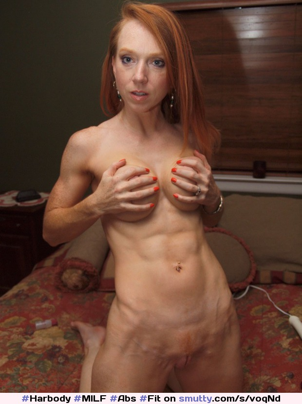 Naked red head milf