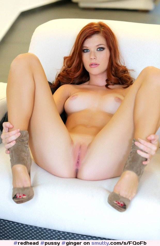 Redhead crotch hot shows fire girl