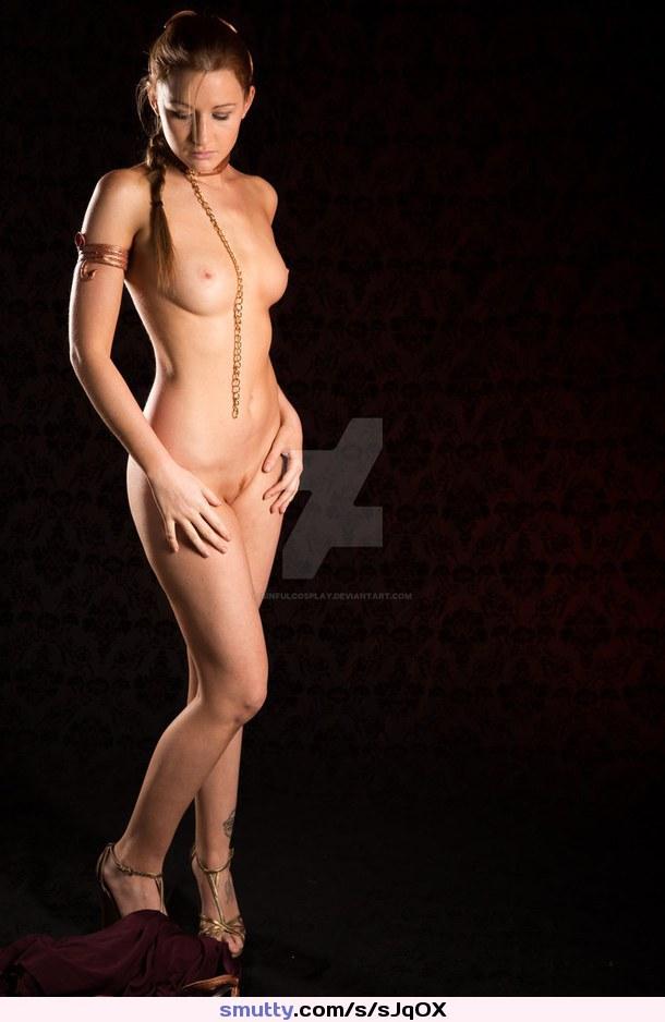 Slave Princess Leia Cosplay Nude