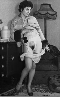 Think, Vintage hairy pussy panties