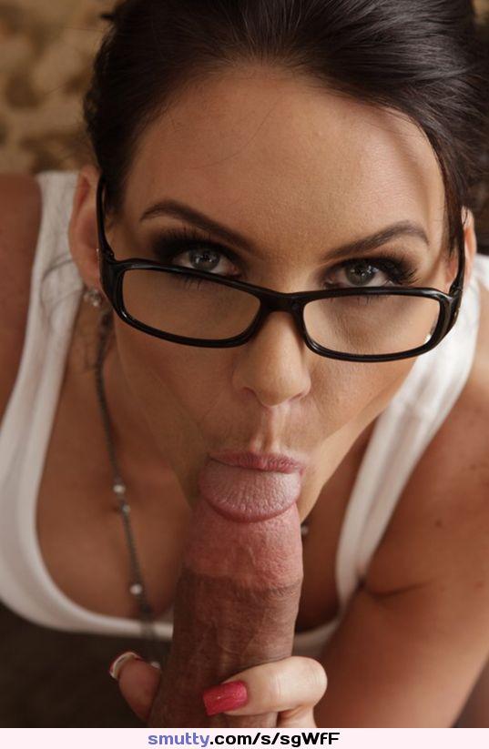 Pov Brunette Blowjob Big Tits