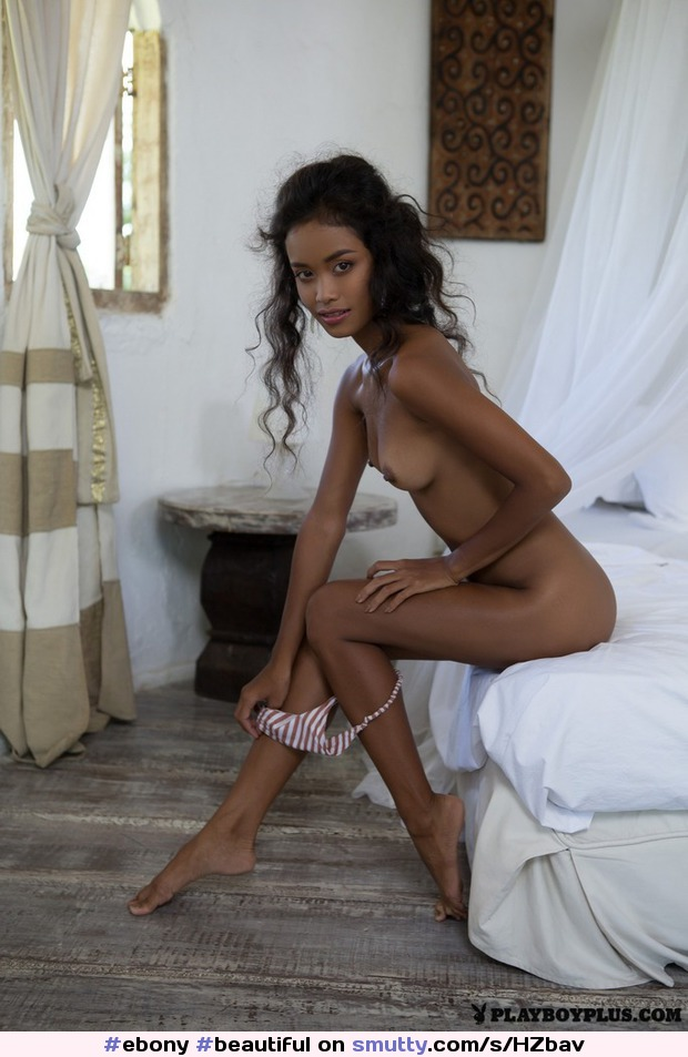 #ebony #beautiful #artistic #nude #petite #smalltits #smallass #hot #babe