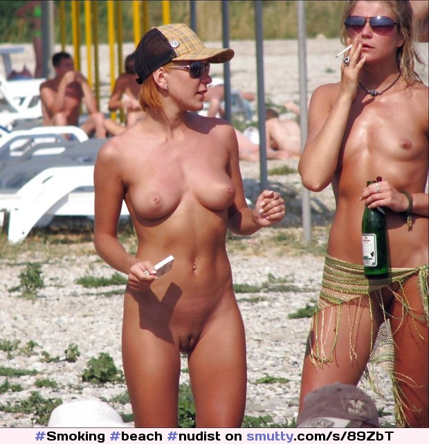 Can nude beach smoking