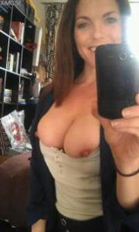 Mature milf riding nude selfie