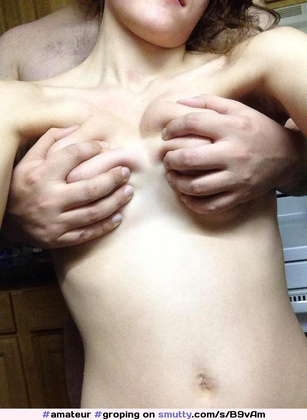 Cuddling tits