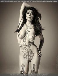 Tattoo pussy cunt tits