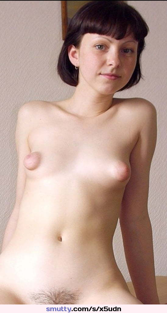 Cute Teen With Big Nipples And Small Tits Gives A Hot Show