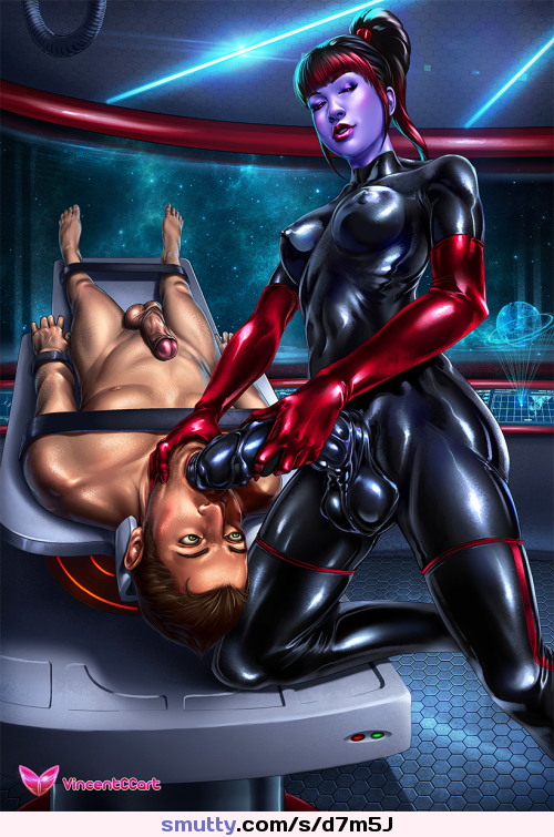 Mistress Latex Bondage Strapon